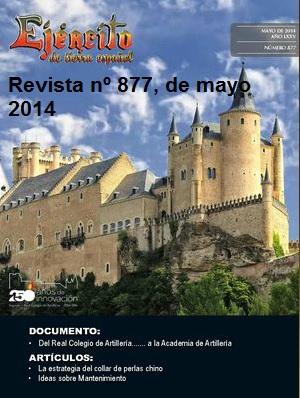 Revista Ejército nº 877 de mayo de 2014