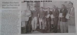 Málaga Hoy, edición de 1º de mayo de 2014