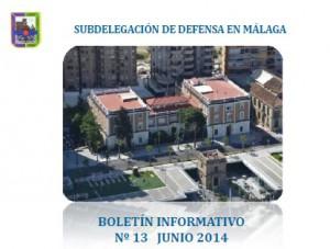 Portada Boletín Defensa junio 2014