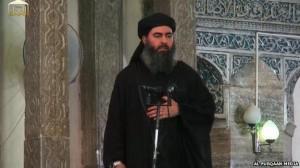 Abu Bakr Al-Bagdadí, califa del Estado Islámico de Irak y el Levante