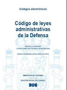 Codigio de leyes administrativas de la Defensa