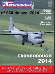 Revista Aeronautica nº 838 de noviembre de 2014