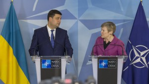 Visit to NATO by the Prime Minister of Ukraine