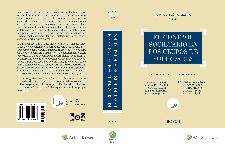 """Éxito en la presentación del libro """"El control societario en los ..."""