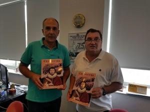El Secretario Técnico del Club, Ignacio Liñan y el Director del Foro,  Rafael Vidal