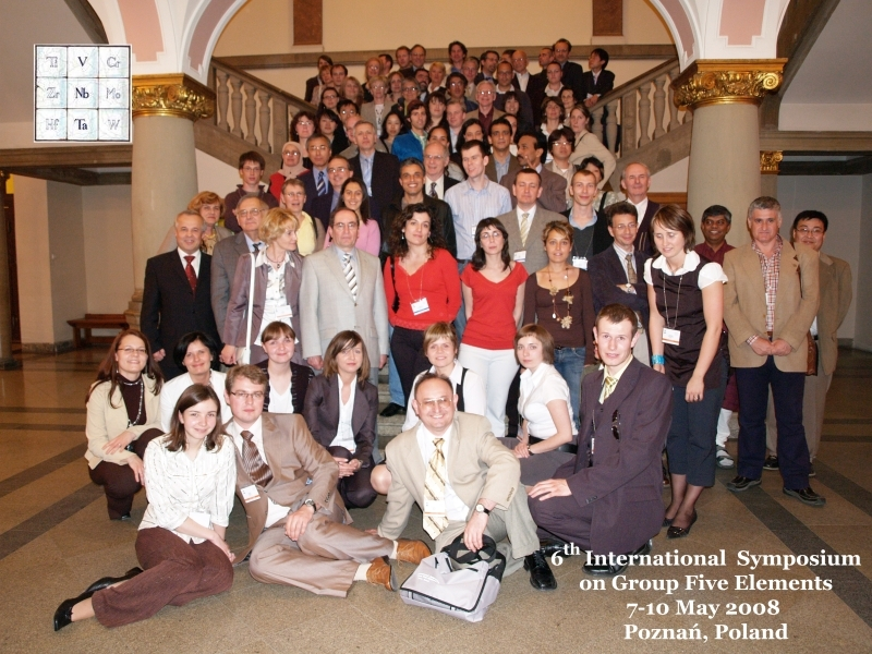 6th International Symposium on Group Five Elements