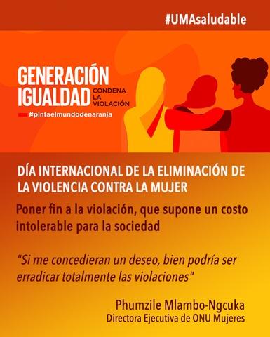 Día Internacional De La Eliminación De La Violencia Contra La Mujer Universidad De Málaga