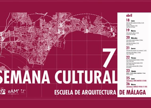 La ets de arquitectura celebra su vii semana cultural universidad de m laga - Ets arquitectura malaga ...