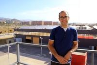 El investigador Juan Miguel Morales en la Escuela de Ingenierías de la UMA