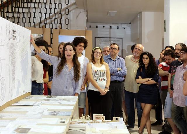 Estudiantes de arquitectura exponen proyectos de actuaci n sobre el frente litoral de m laga - Ets arquitectura malaga ...