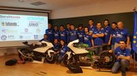 Acto de presentación del equipo UMA RACING TEAM 2016 en la Escuela de Ingenierías Industriales
