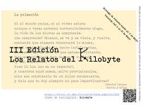 """III Edición del concurso """"Los relatos del kilobyte"""""""