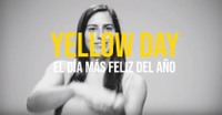 Yellow Day 2018