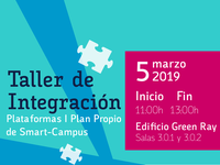 Taller de Integración [I Plan Propio de Smart-Campus]