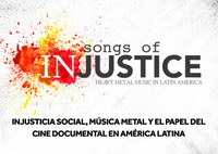"Proyección del documental ""Songs of Injustice"""
