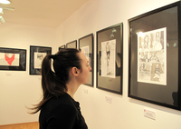 Fancine comics and illustrations exhibition