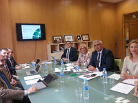 Executive Board of Andalucía Tech meet in Málaga