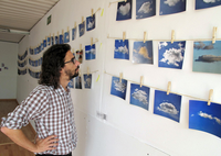"Seniors in Art History organize exhibition ""5.000 poemas en el cielo"" (5.000 poems in the sky)"