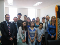 Researchers from the Universities of Málaga and Incheon meet