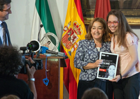 UMA student Mayte Hernández wins the I Talentage Awards