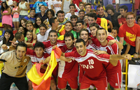 Universities of Valladolid and Rouen proclaimed European champions in Futsal