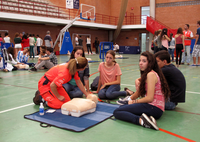 Over 1000 students attend the CPR Training Day