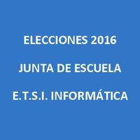 Elecciones Junta de Escuela 2016