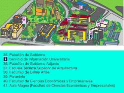 Plano campus del Ejido