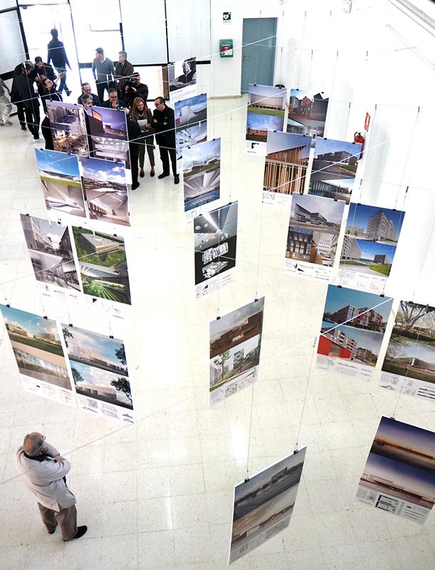 La ets de arquitectura inaugura una exposici n dedicada a francisco mangado universidad de m laga - Ets arquitectura malaga ...