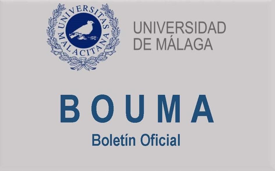 Universidad de Málaga. BOUMA - Boletín Oficial