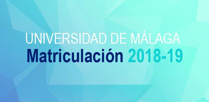 Acceso a la Guía de Matriculación 2018-19 Universidad de Málaga