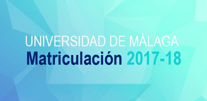 Acceso a la Guía de Matriculación 2017-18 Universidad de Málaga