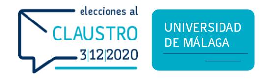 Elecciones al Claustro 2020